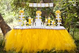 yellow baby shower ideas cheerful yellow dandelion baby shower ideas and pictures