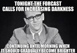 George Carlin Meme - george carlin as hippy dippy weatherman memes