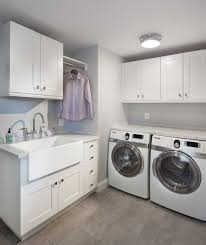Sink For Laundry Room Laundry Room With Large Sink And White Cabinets Affordable And