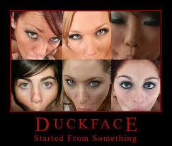 Duck Face Meme - start duck face know your meme