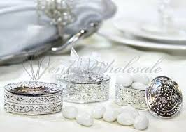 jewelry box favors jewelry box favors gold silver oval plastic trinket box wedding