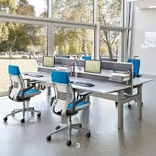 Hunts Office Furniture by Ology Height Adjustable Bench Desks Hunts Office Furniture Matt