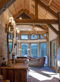 Log Cabin Bathroom Ideas Colors Best 25 Lake Cabin Interiors Ideas Only On Pinterest Lake