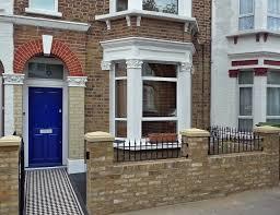 Garden Wall Railings by Classic London Front Garden Wall Tiles Metal Rails Perfect