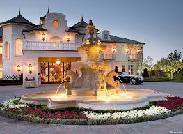 chateau style homes chateau style driveway with luxury mansion