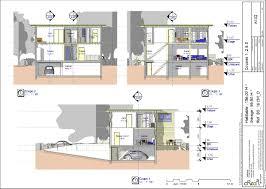 Construire Un Ilot Central by Plan Bs 16159 D Maison Bois Contemporaine T5 156 M 4
