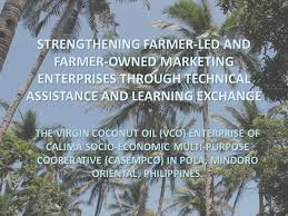 strengthening farmer led and farmer owned marketing enterprises