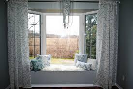 Window Bay Curtains Uncategorized Spacious Curtains For Window Seat Curtains For