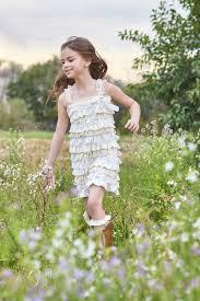 shabby chic ruffles lace dress fancy pants