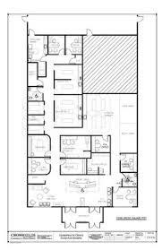 Floor Plan For Office Example Of Chiropractic Floor Plan 6 Treatment Rooms Semi Open
