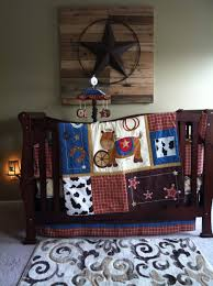 Western Boy Crib Bedding Western Nursery Like The On The Wood For Our Sweet Baby