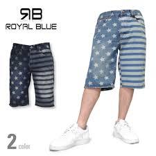 Mens Flag Shorts Criminal Rakuten Global Market Large Royal Blue Denim Shorts