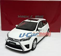 toyota yaris all models 1pcs 1 18 china toyota yaris l 2014 die cast car model
