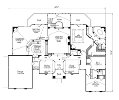 floor plans with great rooms colonial house plan 3 bedrooms family home sunken great room
