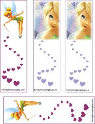free printable tinkerbell tinker bell bookmarks and other printables crafts i love