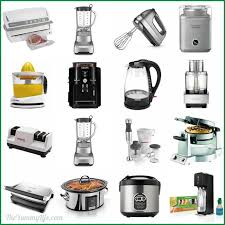 list of kitchen appliances awesome 15 small kitchen appliances in list of incredible ideas
