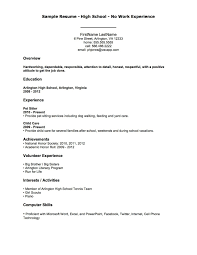 Example Of Sales Resume Example Of Military Resume Image Gallery Of Impressive Inspiration
