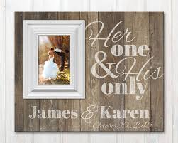 personalized wedding photo frame personalized picture frame with established date one and his
