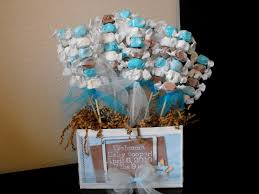 Home Made Baby Shower Decorations - handmade baby shower decorations for a boy decorating of party