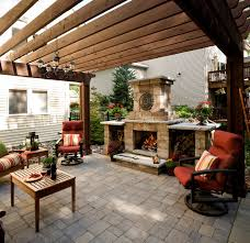 savage backyard pergola and patio southview design