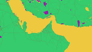 World Google Map by Google Maps As Art A Splattering Of Color Changes The World We