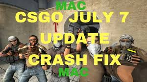 steam csgo july 7 2017 update crash fix mac osx imac 2017