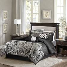Madison Park Laurel Comforter Madison Park Vanessa Comforter Set King Black U0026 Grey By