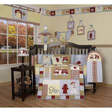 Firefighter Crib Bedding Geenny Truck 13 Crib Bedding Set Free Shipping Today