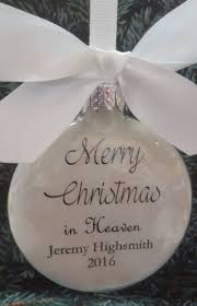 merry christmas from heaven ornament christmas ideas
