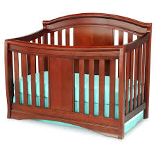 delta convertible crib toddler rail delta children elite 4 in 1 convertible crib cabernet