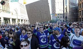 vancouver canucks fans riot totallycoolpix com