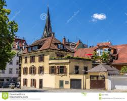 Konstanz Germany Map by Buildings In The City Center Of Konstanz Germany Stock Photo