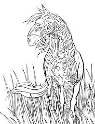 coloring pages free horse coloring pages selah works artwork