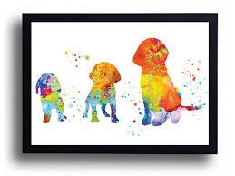 halloween art prints watercolor art print beagle puppy art beagle painting beagle