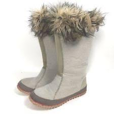 Sorel Tivoli Rugged Canvas Boots Sorel Flat 0 To 1 2