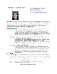 Sample Airlines Ticketing Agent Cv Tour Guide Resume Top Free Resume Samples U0026 Writing Guides For