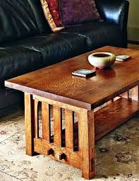 solid oak mission style coffee table craftsman style end tables dining mission kitchen sets side table