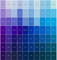 blue color chart images reverse search