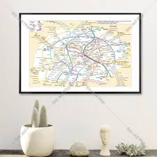 Metro Pcs Map by Online Get Cheap Map Canvas Aliexpress Com Alibaba Group