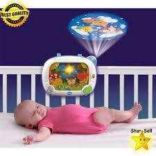 baby soother animal crib light music player nursery light