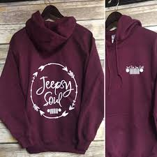 jeep clothing malaysia just for jeep girls logo hoodie jeepsy soul