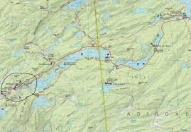 Map Of Old New York by I Plan To Meet Up With The Trans America Rally In Old Forge Ny
