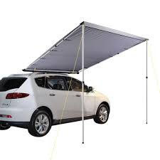 Side Awning Tent 2 5m X 3m Car Side Awning Roof Rack Top Pull Out Tent Camping