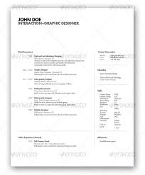 Modern Professional Resume Template 25 Best Simple Photoshop U0026 Indesign Resume Templates Web