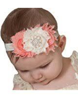 amazon com miugle baby shabby chic headbands with bows clothing