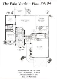 Homes For Sale With Floor Plans Find Sun City Grand Palo Verde Floor Plans U2013 Leolinda Bowers