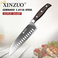 kitchen knives german xinzuo 7 inch japanese chef knife german steel kitchen knife