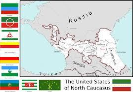 Map Of The United State Map Of The United States Of North Caucasus By Coliop Kolchovo On