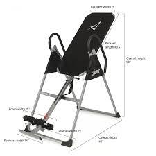 best fitness inversion table amazon com akonza inversion table deluxe fitness chiropractic back