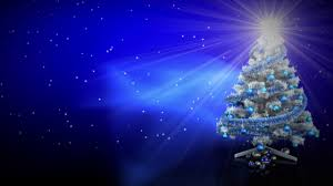 Blue White And Silver Christmas Tree - free hd video backgrounds u2013 celebrations u2013 white christmas tree